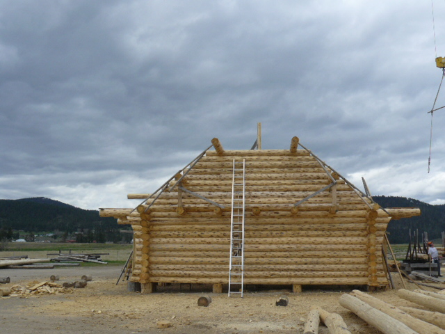 Section 2 log gable