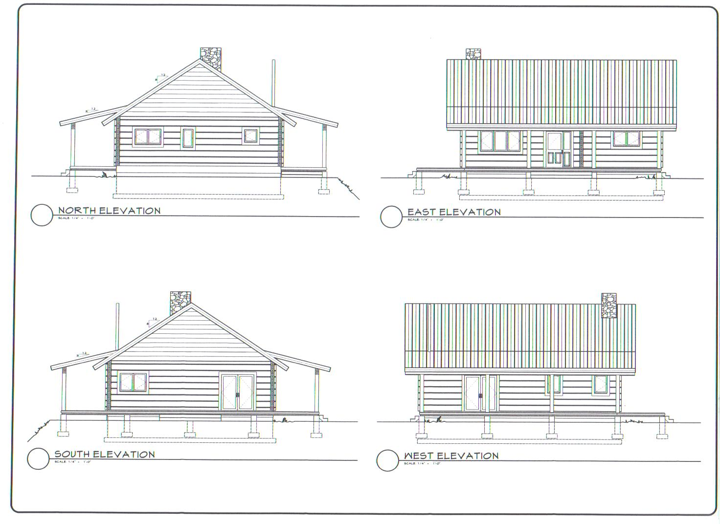 Plan elevations