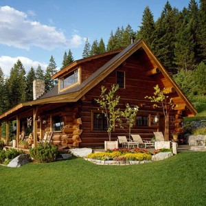 Floor plans montana log homes for Log homes floor plans with pictures